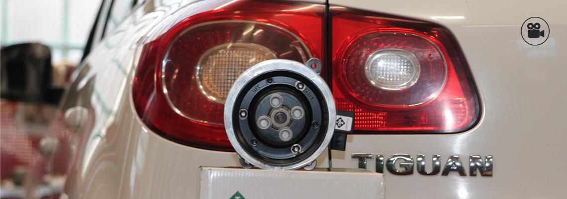 Меняем помпу на VW Tiguan с мотором 1.4 TSI
