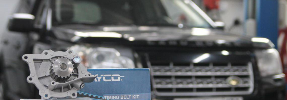 Видеоуроки: замена ГРМ Land Rover Freelander 2