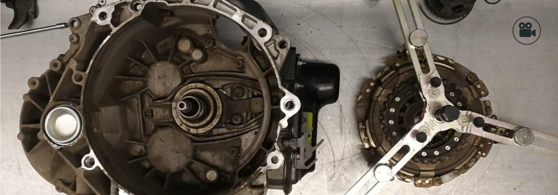 Видеоуроки: замена модуля сцепления в DSG-7