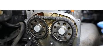 ВИДЕОУРОКИ: замена цепи ГРМ на моторе 1.6