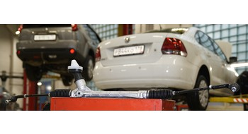 VW Polo: замена рулевой рейки