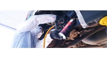 Защита автомобиля от коррозии, шума, сколов