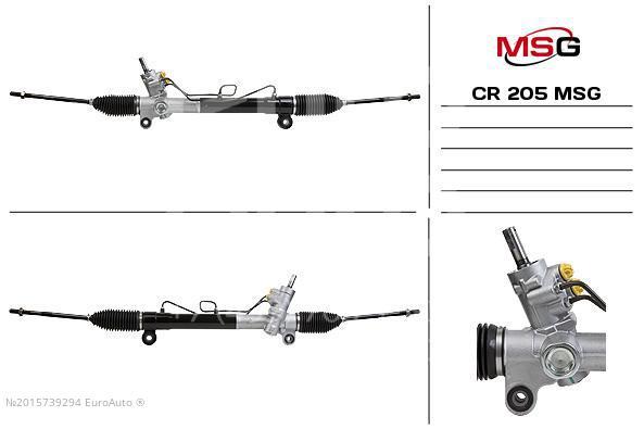 Рейка рулевая MSG CR205