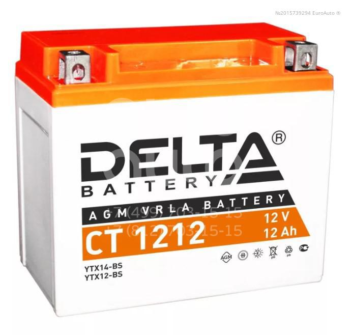 Аккумулятор мото Delta CT1212