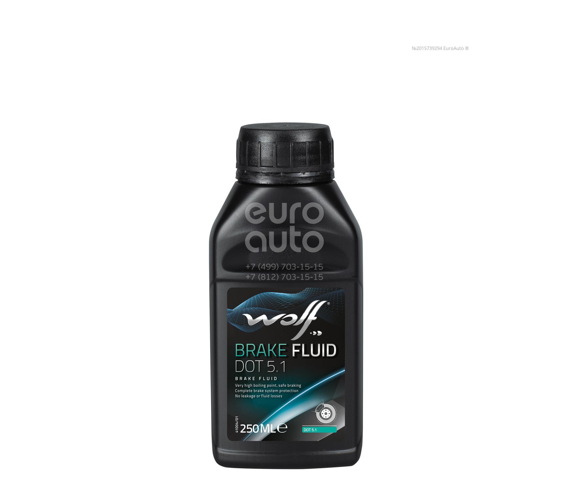 Жидкость тормозная Wolf 8308109