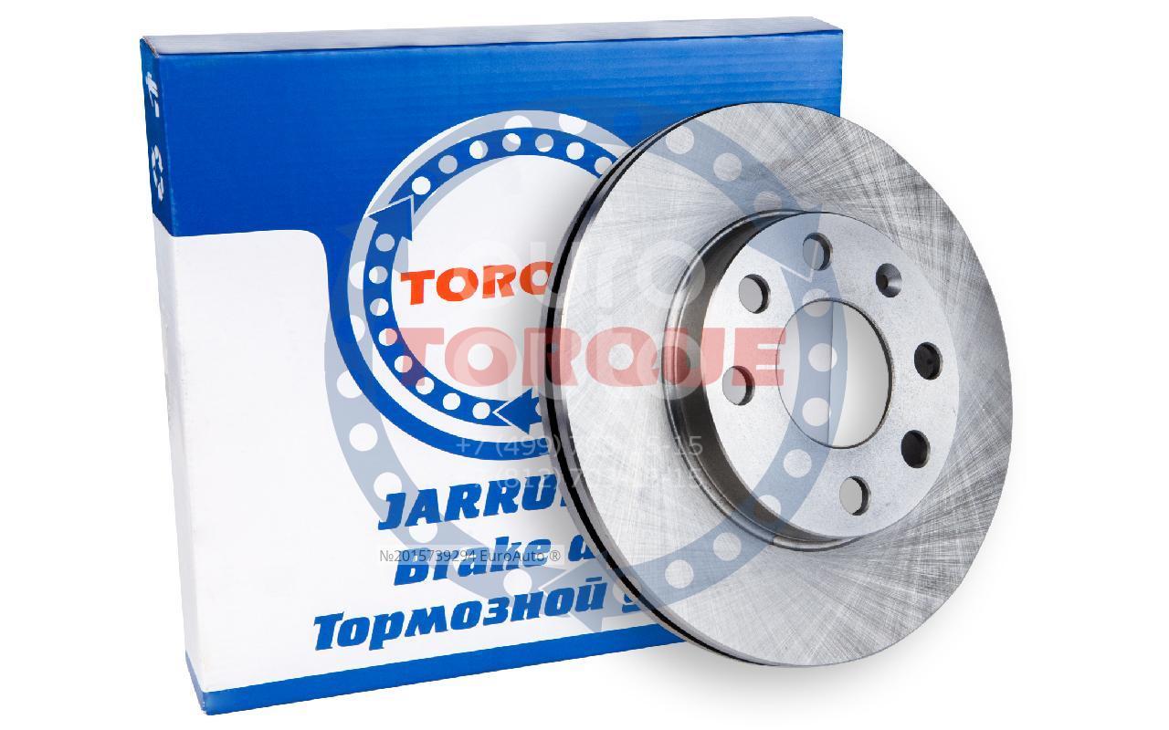 Диск тормозной передний вентилируемый TORQUE JL105