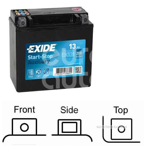 Аккумулятор Exide EK131