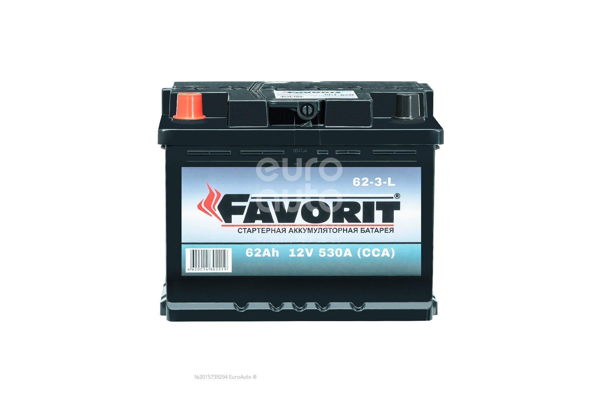 Аккумулятор Favorit 62-3-L