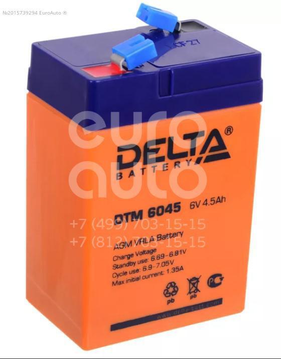 Аккумулятор мото Delta DTM6045