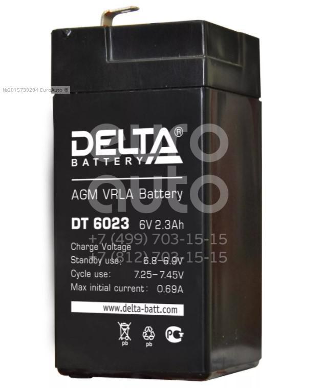 Аккумулятор мото Delta DT6023