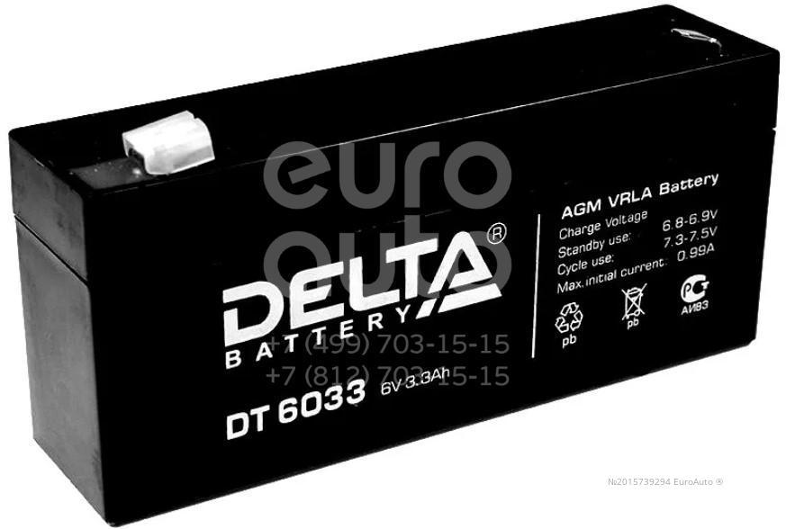 Аккумулятор мото Delta DT6033