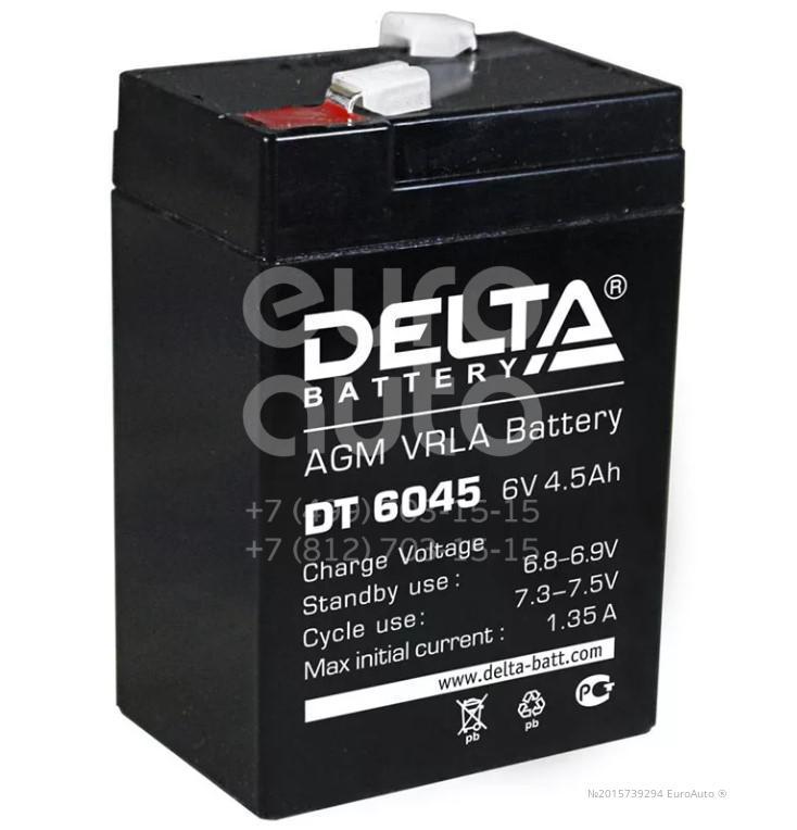 Аккумулятор мото Delta DT6045