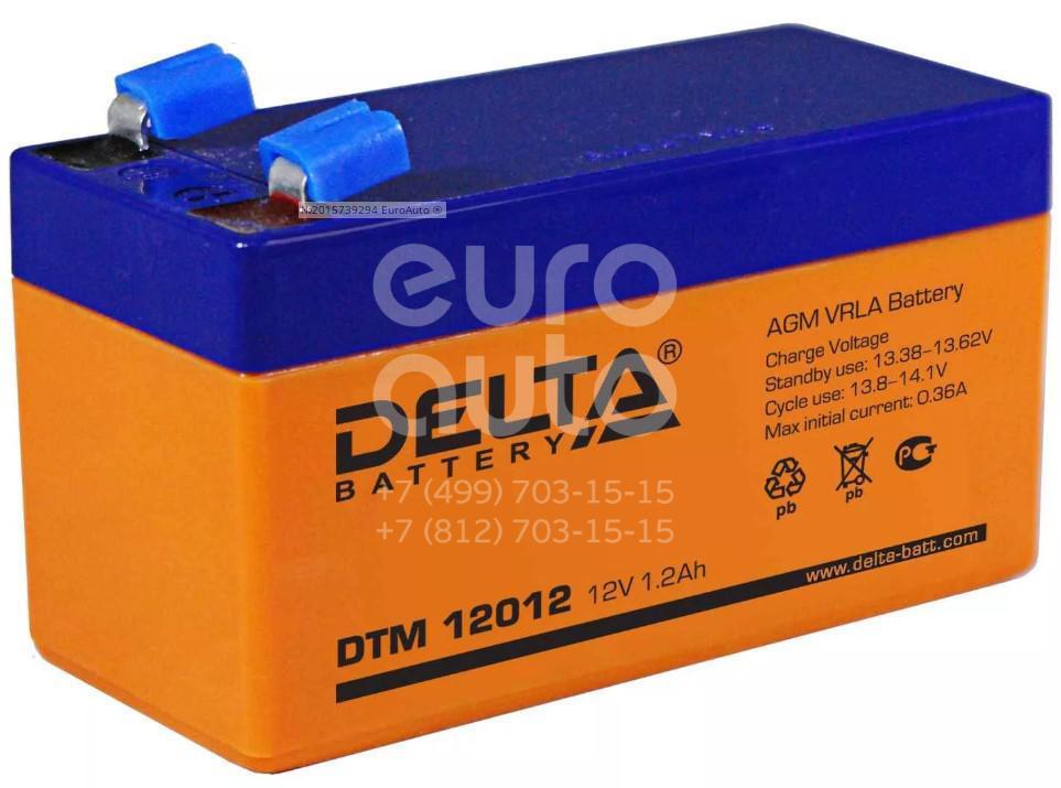 Аккумулятор мото Delta DTM12012