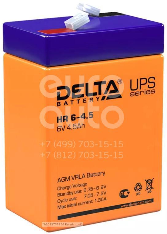 Аккумулятор мото Delta HR6-4.5