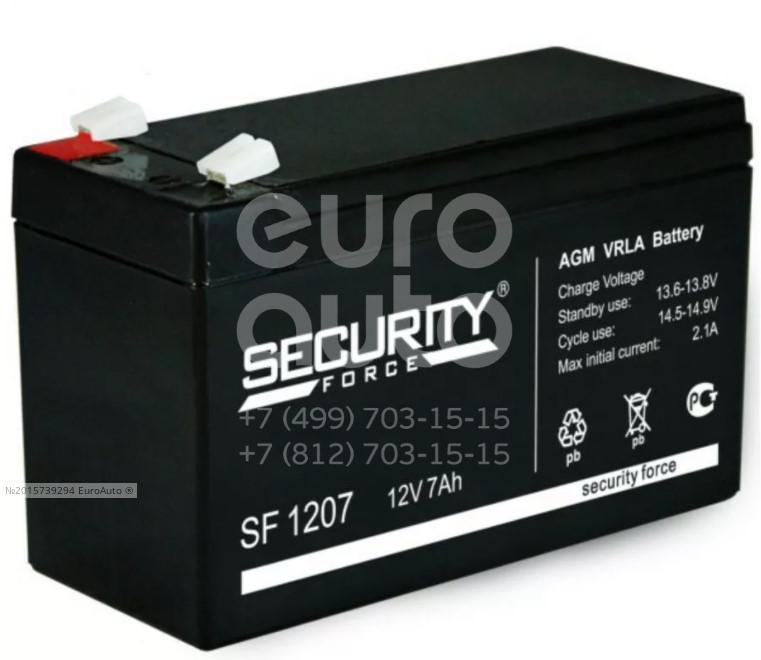 Аккумулятор мото Security Force SF1207