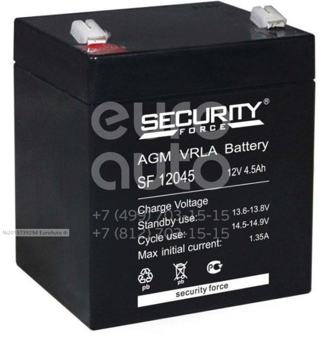 Аккумулятор мото Security Force SF12045