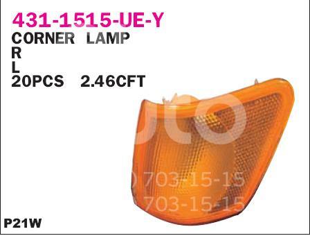 Указатель поворота левый желтый Depo 431-1515L-UE-Y