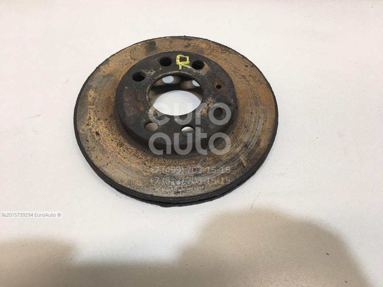 Диск тормозной передний вентилируемый GM 90121445