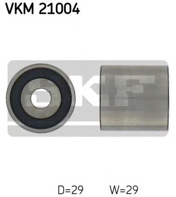 Ролик дополнительный ремня ГРМ SKF VKM21004